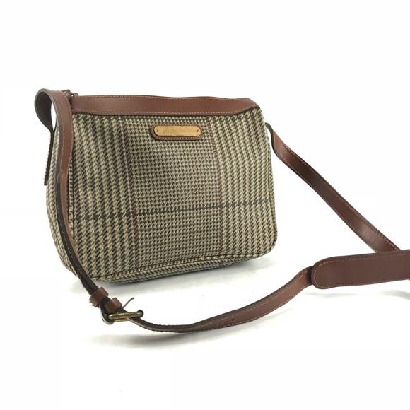 Vintage Polo Ralph Lauren plaid crossbody bag. M 5a56bc5a31a376e2f300a314 c5509d2066d4f